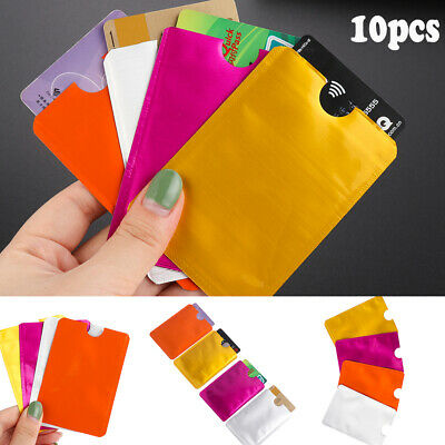 Protector Case Sleeve Wallet Card Holder Protect Case Cover RFID Blocking