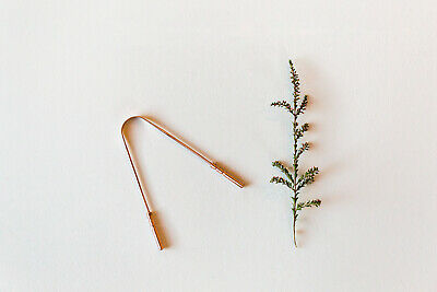 Copper Tongue Cleaner  $14