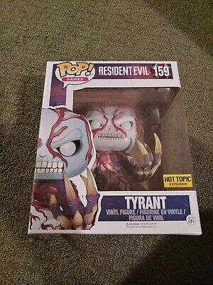 CAPCOM BIOHAZARD Resident Evil Tyrant pop ! Funko Anime Toy Hobby Goods