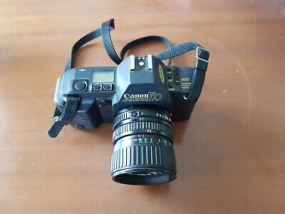 Canon T70 35mm SLR With 35-70mm FD Lens