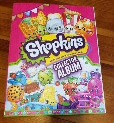 Shopkins Card Collecting Album Binder With 13 Cards