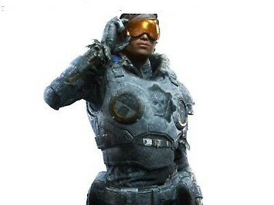 Gears of War 5 Exclusive Limited Edition Ice Kait Skin and Rockstar DLC Codes