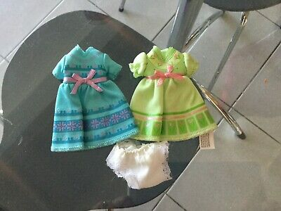 Modern small  little doll dresses and pair panties No 25