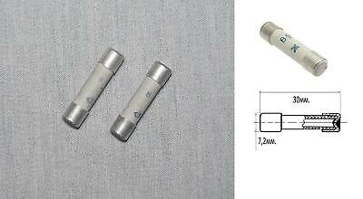 0.5A Slow-Blow Fuse 5x20mm Silver 999 Audio USSR Military PST-2 FastSHIP* 50PCS