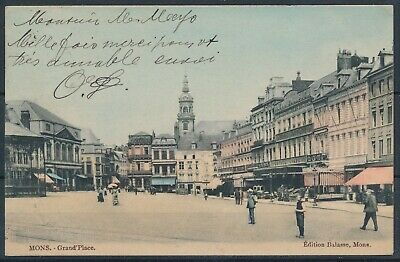 [1636] Mons CPA - Grand' Place