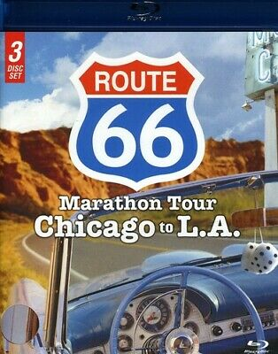 Route 66: Marathon Tour - Chicago to L.A. [3 (Blu-ray Used Very Good) BLU-RAY/WS