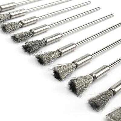 20Pc 100mm Steel wire Brush Metal Rust Removal Polishing Brushes Wheel For Drill