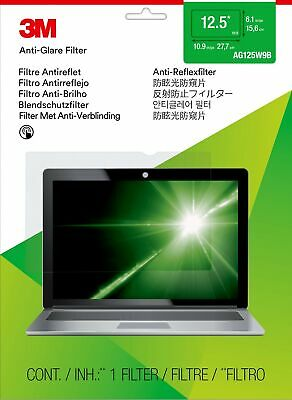 """New  3M Anti-Glare Filter For 12.5"""" Widescreen Laptop 98044058471"""