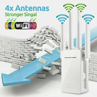 1200Mbps Dual-Band 2.4 WIFI Range Extender WiFi Repeater Wireless Home Network