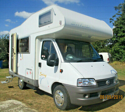 Lovely little  Fiat Ducato Hymer Motorhome, Campervan, 4 berth Compact