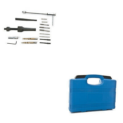 8MM 10MM Glow Plug Removal Remover & Thread Repair Auto Car Hand Tool Set