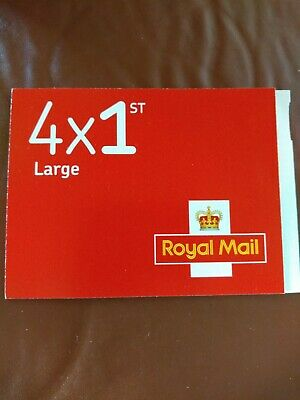 ROYAL MAIL STAMPS Large Letter Book 4 x 1st first class large letter stamps