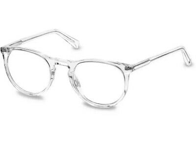 Brand New Warby Parker Haskell Crystal Eyeglasses w/Demo Lens 49-22-145