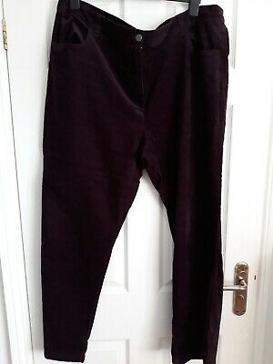 ANN HARVEY Ladies pink tencel trousers plus size 16 18 20 22 24 26 28 BNWT