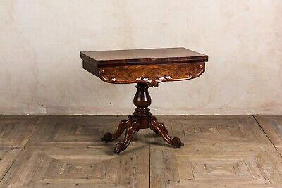 Victorian Tea Table Antique Wooden Occasional Table
