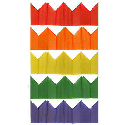 Paper Party Hats Christmas Xmas Crackers Coloured Tissue Paper Celebration Hats