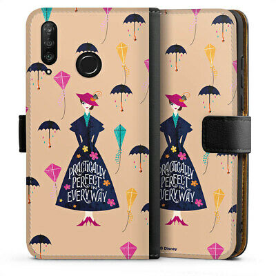 Huawei P30 Lite Tasche Hülle Flip Case - Practically Perfect Mary Poppins