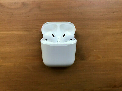 Apple AirPods (1st Generation) with Lightning Charging Case - White