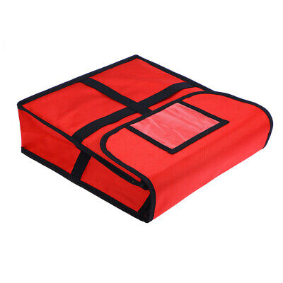 Large Heavy Duty Pizza Delivery Bag Size 33 x 33 x 11CM Insulated Hot Bag