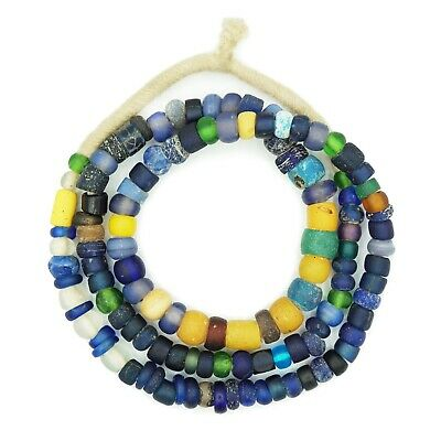 Large Ancient Excavated Djenne Beads from Mali, Africa - Ancient Roman Glass
