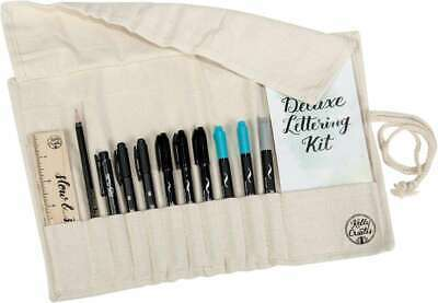Kelly Creates Deluxe Lettering Kit 13/Pkg Canvas 718813435598
