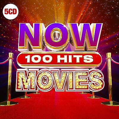 NOW 100 HITS MOVIES 5 CD - Various Artists (New Release September 20th 2019)
