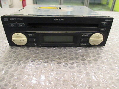 Nissan Micra car Radio Original Radio CD Cabriolet