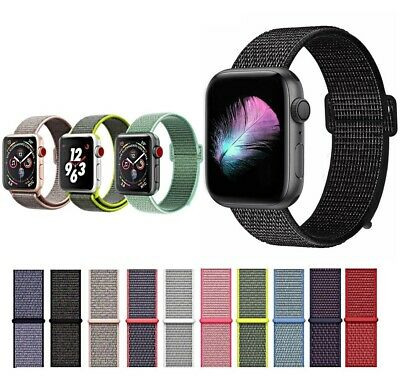 CINTURINO per Apple Watch series 5 4 3 2 1 SPORT RUN PRO NYLON 44 42 40 38 mm