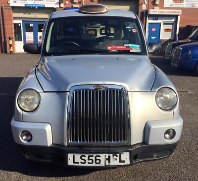London Taxi TX4 2006 56 Plate Automatic Silver Spec