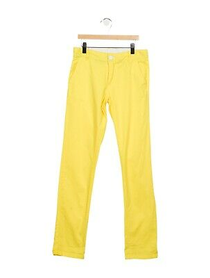 JACADI KIDS Boys' Straight-Leg Pants Trousers Yellow Size 3 years or 10 years