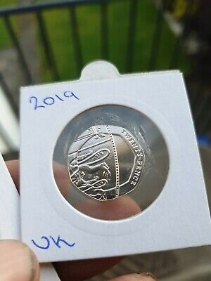 2019 Uncirculated Royal Mint 20p twenty pence coin GB/UK collectable coin