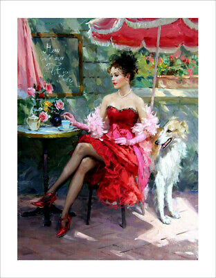 Oil Painting HD Print Oil Painting Modern Art Canvas A11