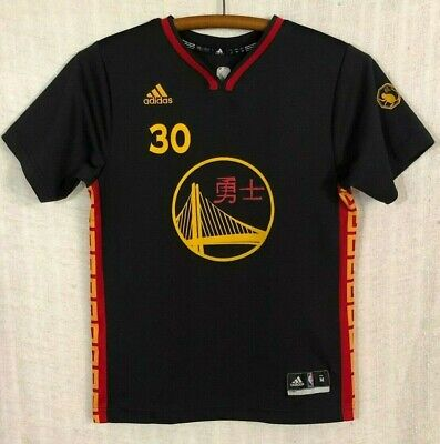 steph curry jersey youth medium jersey on sale