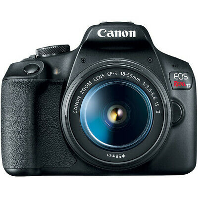 Brand New Canon EOS Rebel T7 DSLR Camera with 18-55mm Lens - Black