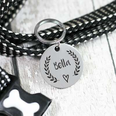 Dog Tag Round - Personalised