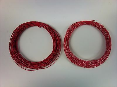 NEW 15 meter Silver Plated stranded copper Equipment Wire PTFE