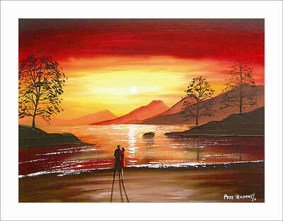 Oil Painting HD Print Oil Painting Modern Art Canvas F132