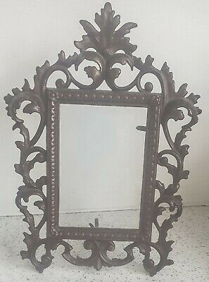 Antique Gilt Bronze French Rococo Style Picture/Photograph Easel Frame