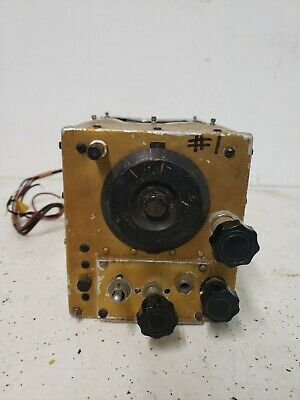 Vintage Western Electric RADIO RECEIVER US BC-454-B WW2 Signal Corps Army