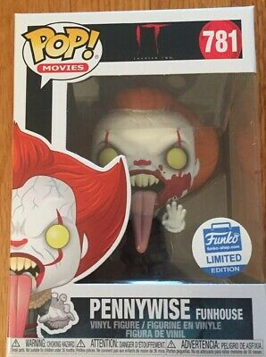 Funko Pop! Movies It Chapter Two Pennywise (Funhouse) Funko Shop Exclusive #781!
