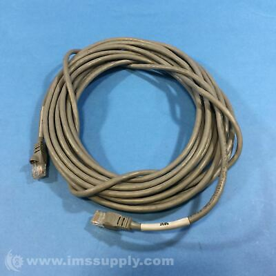Hubbell Cat5E Cable Cat5E+ Patch Cable Gray Usip