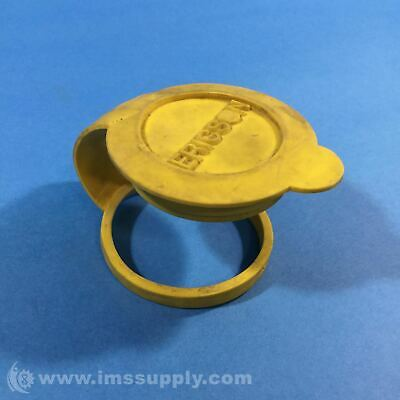 Ericson Mfg Yellow Connector Plug Cover USIP