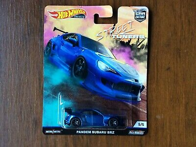 Hot Wheels Car Culture Street Tuners Pandem Subaru BRZ with Real Riders