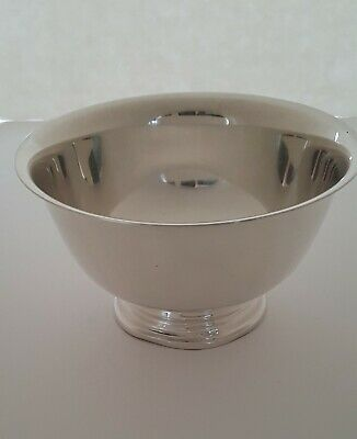 Sterling Silver Paul Revere Reproduction pedestal Bowl made by Watrous