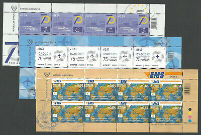 Cyprus Stamps 2019 Anniversaries and Events - Full sheets MINT