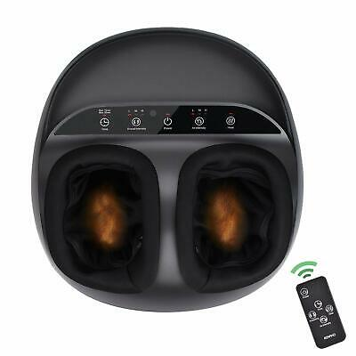 RENPHO Shiatsu Heated Foot Massager With Remote Control Fit's To Men's Size 12