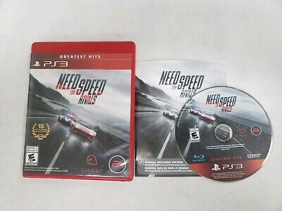 Need for Speed: Rivals (Sony PlayStation 3 PS3) Complete Free Fast Shipping