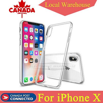 Protector Case Cover For iPhone X Ultra Slim Shockproof Silicone Soft TPU CA