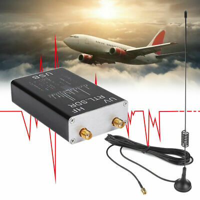 Full Band 100KHz-1.7GHz Tuner Receiver UV HF RTL-SDR USB R820T+8232 Ham Radio