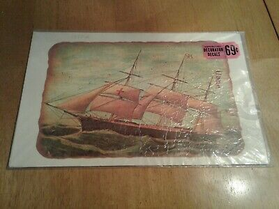 Vintage Large Meyercord Decorator Decals SHIP 1517-A New